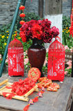 DECORATIONS FOR CHINESE NEW YEAR Stock Images