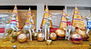 Decorations for Chirstmas. In front of shopping mall in Saigon, Vietnam Stock Photography