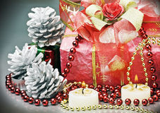 Decorations for Christmas Stock Images