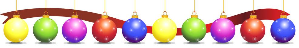 Decorations christmas Stock Photography