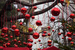 Decorations Christmas balls for tree Stock Photography