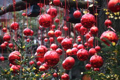 Decorations Christmas balls for tree Royalty Free Stock Image