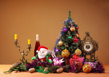 Decorations for Christmas and Easter Royalty Free Stock Image