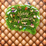 Decorations for Christmas holidays. EPS 10 Royalty Free Stock Photos
