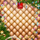 Decorations for Christmas holidays. EPS 10 Stock Photo