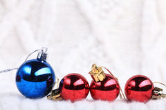 Decorations for Christmas and New Year Royalty Free Stock Photography