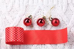 Decorations for Christmas and New Year Stock Photography