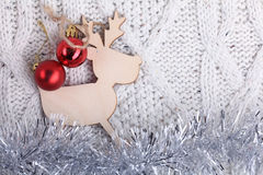 Decorations for Christmas and New Year Stock Photos