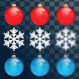 Decorations for Christmas and New Year Royalty Free Stock Image