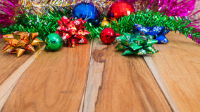 Decorations for Christmas and New Year Stock Images