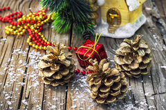Decorations for Christmas Royalty Free Stock Images