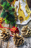 Decorations for Christmas Royalty Free Stock Photos