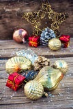 Decorations for Christmas Stock Photo