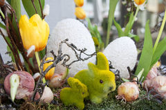 Decorations for Easter holiday Royalty Free Stock Photography