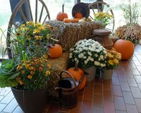 Decorations for Fall stock photography