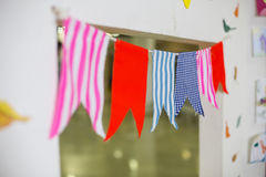 Decorations flag Stock Photos