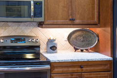 Decorations on Granite Countertop Royalty Free Stock Photo