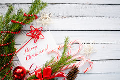 Decorations and greetings Stock Photography