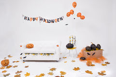 Decorations for Halloween Royalty Free Stock Photos