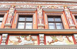 Facade of the House of the Wide Stove, Erfurt, Germany  Stock Photos