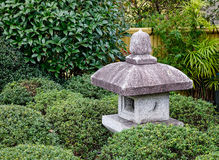 Decorations at Japanese garden in Gotemba, Japan Stock Image