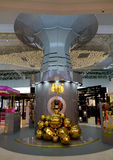 Decorations at KLIA airport, Malaysia. Decorations at KLIA airport. Kuala Lumpur International Airport is Malaysia's main international airport and one of the Stock Photography
