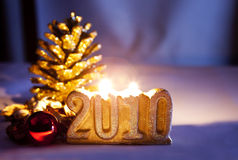 Decorations, new year Royalty Free Stock Photos