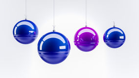 Decorations for new year Stock Image