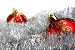Decorations for new year and christmas Royalty Free Stock Photo
