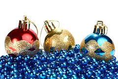 Decorations for new year and christmas Royalty Free Stock Image