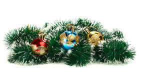Decorations for new year and christmas Stock Photo