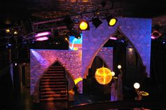 decorations nightclub Στοκ φωτογραφίες με δικαίωμα ελεύθερης χρήσης
