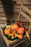 Decorations of the pumpkin Royalty Free Stock Images