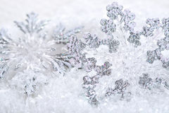 Decorations on snow Stock Image