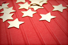 Decorations, stars Stock Image