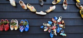 Decorations in the village of Zaanse Schans, Holland Stock Photos