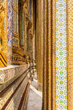 Decorations in wat phra kaew Royalty Free Stock Photography