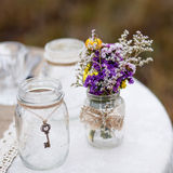 Decorations for the wedding ceremony. Stock Image