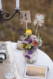 Decorations for the wedding ceremony. Stock Photography