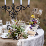 Decorations for the wedding ceremony. Royalty Free Stock Image