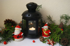 Decorations winter holidays Royalty Free Stock Images