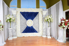 Decorationss for Special Occasions. Flower decorations and arrangements for special occasions Stock Photo