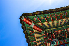 Decoratios do telhado Foto de Stock