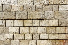 Decorativ Mosaic Stone Wall Stock Images