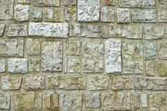 Decorativ Mosaic Stone Wall Stock Photography