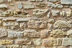 Decorativ Mosaic Stone Wall Royalty Free Stock Photos
