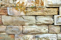 Decorativ Mosaic Stone Wall Royalty Free Stock Photography