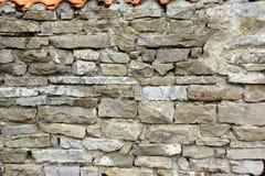 Decorativ mosaisk stenvägg Arkivfoto