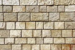 Decorativ mozaiki Kamienna ściana Obrazy Stock