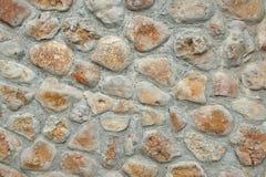 Decorativ mozaiki Kamienna ściana Obraz Stock